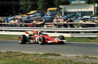 Clay Regazzoni, Ferrari 312B continuó su notable temporada de debut con un segundo lugar