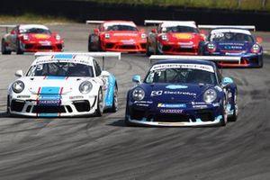 Enzo disputa com Boesel - Porsche