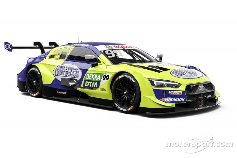 ... Phoenix-Audi-Pilot Mike Rockenfeller. Der setzt allerdings neuerdings auf die Farben blau und gelb! Das könnte zu Saisonstart für Verwirrung sorgen. Beim zweiten ...