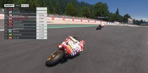 Marc Márquez, Repsol Honda, Gara virtuale in Austria