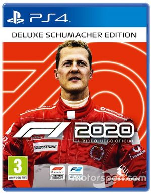 F1 2020 cover