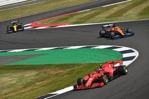 Charles Leclerc, Ferrari SF1000, Carlos Sainz Jr., McLaren MCL35, Esteban Ocon, Renault F1 Team R.S.20