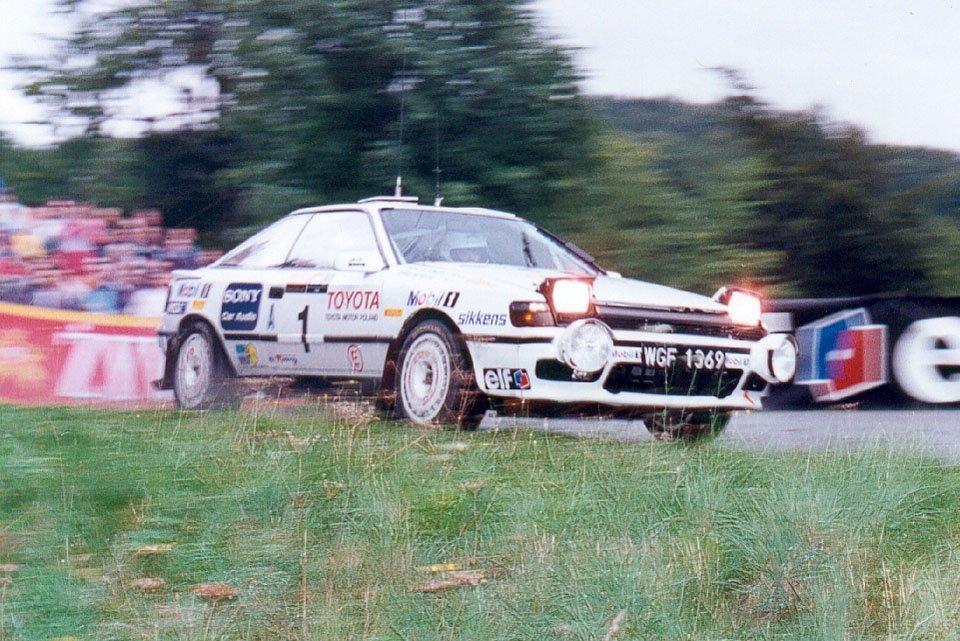 Paweł Przybylski, Krzysztof Gęborys, Toyota Celica GT-4 (ST165)