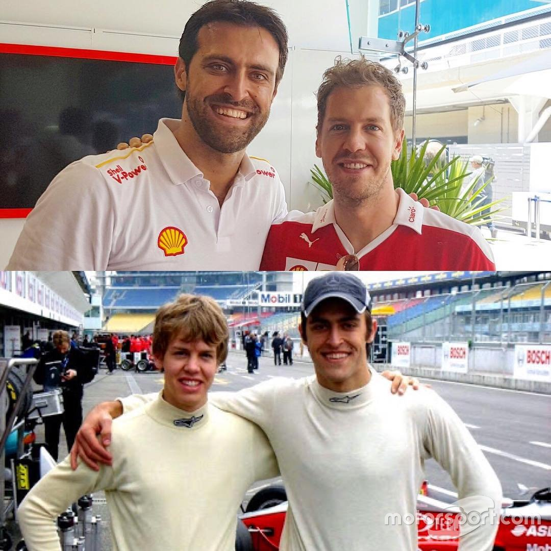 Átila Abreu e Sebastian Vettel
