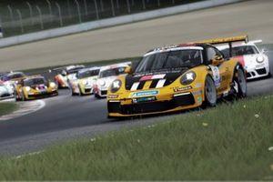 Azione in pista, Porsche Esports Carrera Cup Italia Prologo 2020