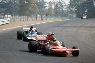 Ronnie Peterson, March 711 Ford, Mike Hailwood, Surtees TS9A Ford