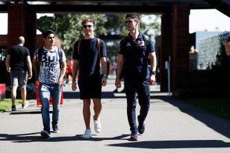 Sergio Sette Camara, reserva de Red Bull Racing, y Pierre Gasly, AlphaTauri