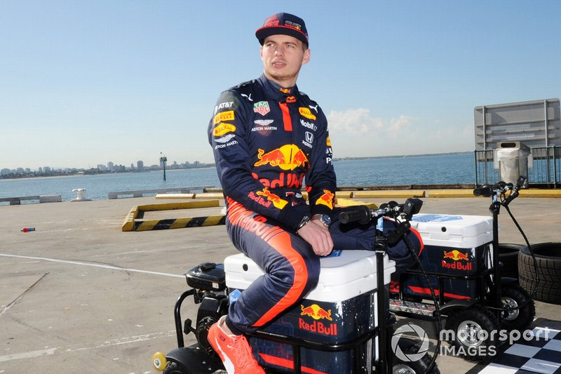 Max Verstappen, Red Bull Racing all'evento Red Bull Grand Pier in St Kilda