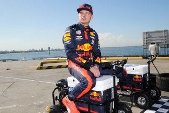 Max Verstappen, Red Bull Racing at a Red Bull event Grand Pier in St Kilda