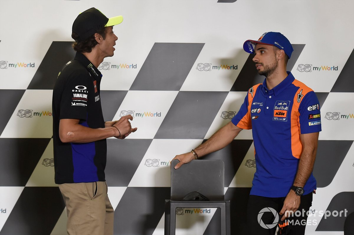 Valentino Rossi, Yamaha Factory Racing, Miguel Oliveira, Red Bull KTM Tech 3
