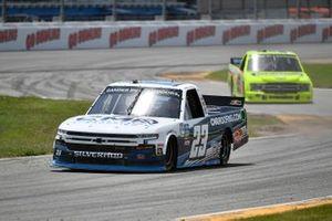 Brett Moffitt, GMS Racing, Chevrolet Silverado CMR Roofing, Matt Crafton, ThorSport Racing, Ford F-150 Ideal Door/Menards