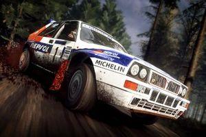 Lancia Delta Integrale action