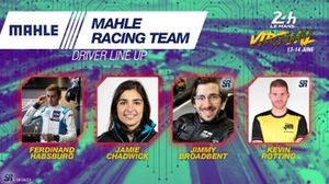 Line-up #67 Mahle Racing Team