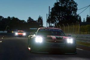#91 Porsche Esports Team Porsche 911 RSR: Andre Lotterer, Neel Jani, Mitchell Dejong, Martti Pietilä