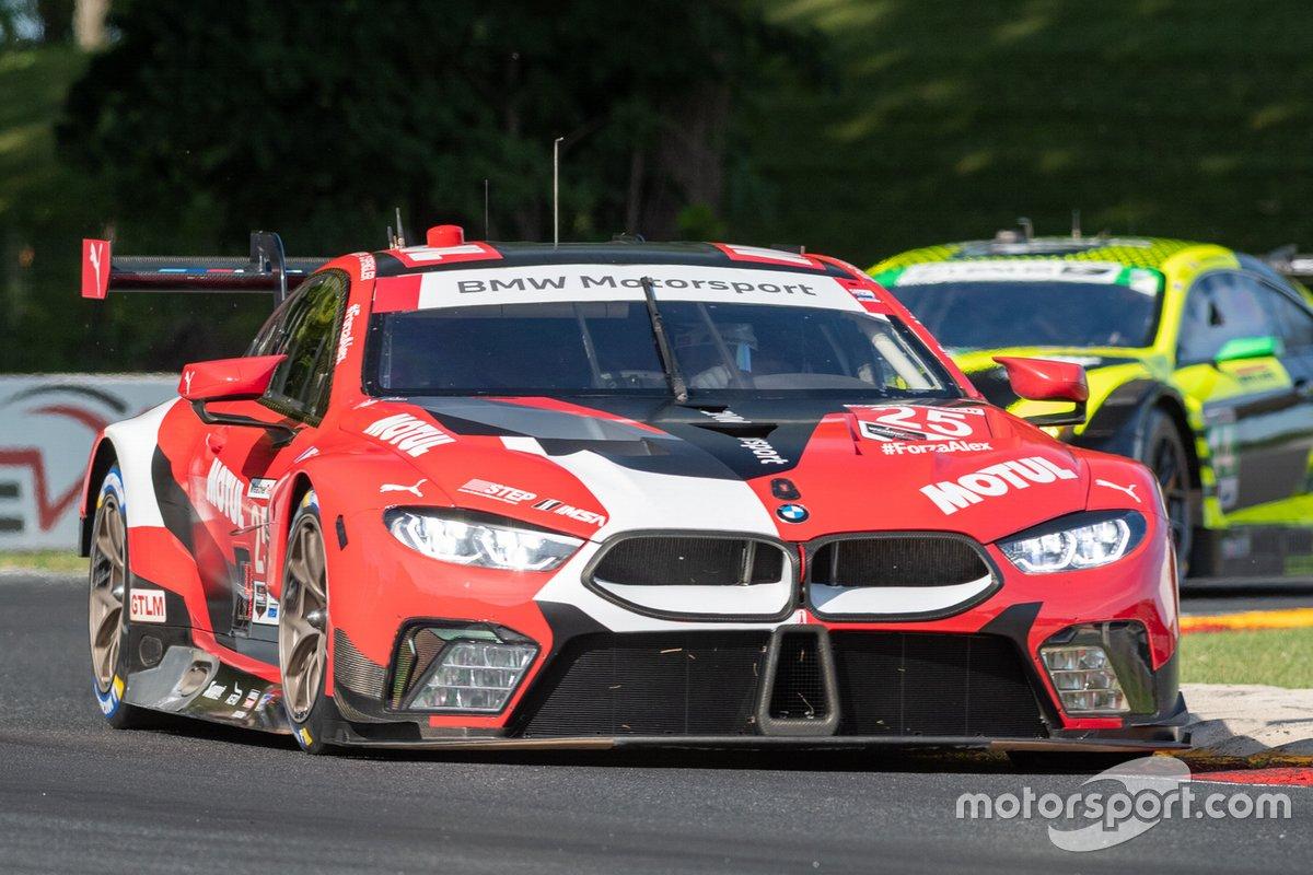#25 BMW Team RLL BMW M8 GTE: Connor De Phillippi, Bruno Spengler