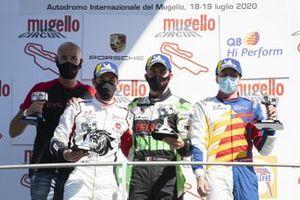 Podio: Alberto Cerqui, Gianmarco Quaresmini, David Fumanelli