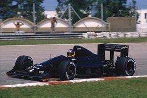Michele Alboreto, Tyrrell 017B Ford