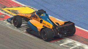 Lando Norris, Dallara DW12