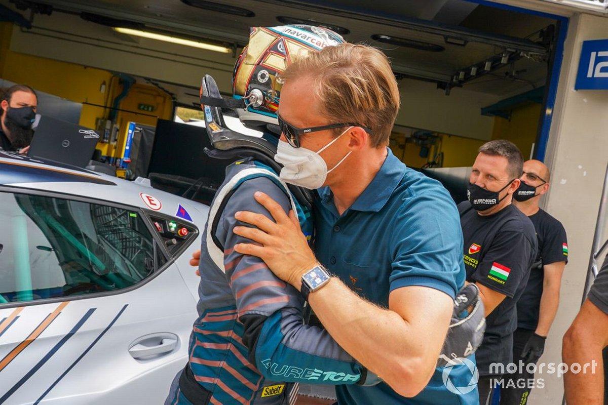 Mikel Azcona, Mattias Ekström, Zengő Motorsport X CUPRA, Cupra e-Racer