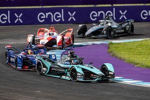 Sam Bird, Jaguar Racing, Jaguar I-TYPE 5, Robin Frijns, Envision Virgin Racing, Audi e-tron FE07, Alex Lynn, Mahindra Racing, M7Electro, Nyck de Vries, Mercedes-Benz EQ, EQ Silver Arrow 02