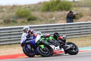 Jonathan Rea, Kawasaki Racing Team WorldSBK, Garrett Gerloff, GRT Yamaha WorldSBK Team