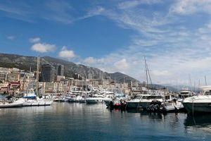 A view across the Monaco harbour