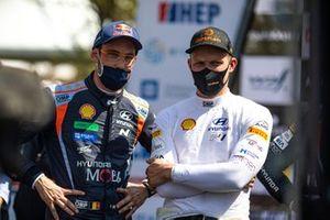 Thierry Neuville, Ott Tanak, Hyundai Motorsport
