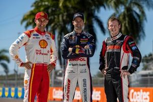 Anton de Pasquale, Dick Johnson Racing Ford, Jamie Whincup, Triple Eight Race Engineering Holden, Will Brown, Erebus Motorsport Holden
