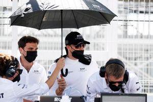 Jerome d'Ambrosio, team principal de Venturi Racing, Edoardo Mortara, Venturi Racing, sur la grille de départ