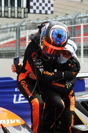 Winners #26 G-Drive Racing Aurus 01 - Gibson: Roman Rusinov, Nyck De Vries