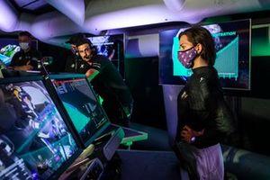 Cristina Gutierrez, X44, in the command centre