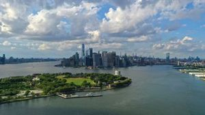 A view of the New York skyline