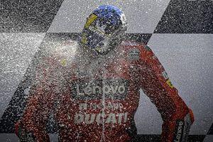 Podio: ganador Jack Miller, Ducati Team