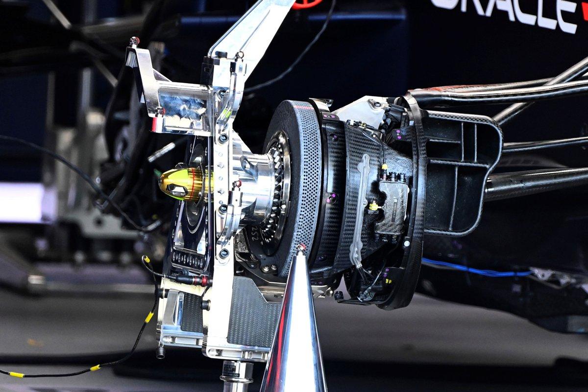 Detalle del Red Bull Racing RB16B