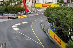 Pirelli banners by the side of the circuit
