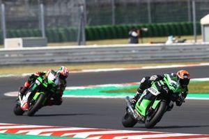 Isaac Vinales, Orelac Racing Verdnatura, Jonathan Rea, Kawasaki Racing Team WorldSBK
