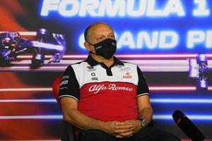 Frederic Vasseur, teambaas, Alfa Romeo Racing