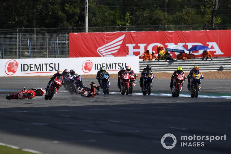 Mario Suryo Aji, Astra Honda Racing Team crash