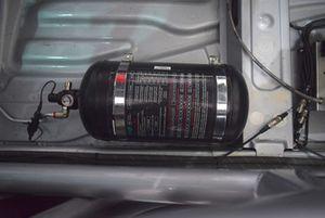 Alfa Romeo Giulietta TCR, dettaglio dell'estintore