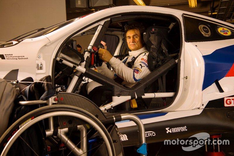 Alex Zanardi beim IMSA-Test in Daytona
