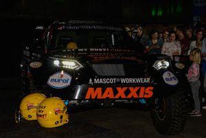 Tim en Tom Coronel, Jefferies Dakar Buggy 2