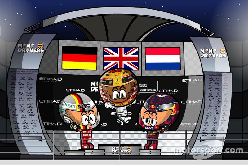 El GP de Abu Dhabi de Fórmula 1 2018, por MiniDrivers