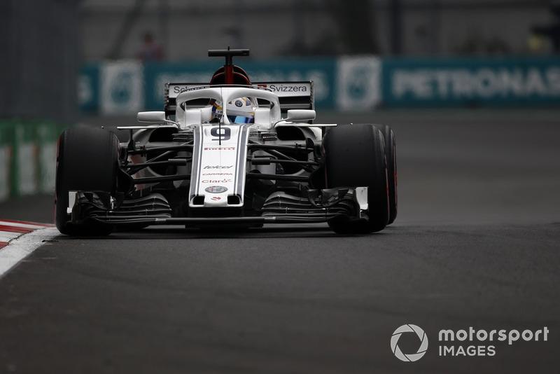 10: Marcus Ericsson, Sauber C37, 1'16.513