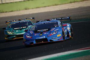 Lamborghini Huracan Super Trofeo EVO #53, Imperiale Racing: Massimo Mantovani ,Davide Venditti