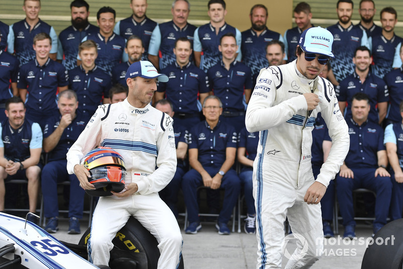 Robert Kubica, Williams y Lance Stroll, Williams Racing