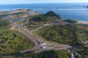 Vue aérienne du circuit de Mandalika
