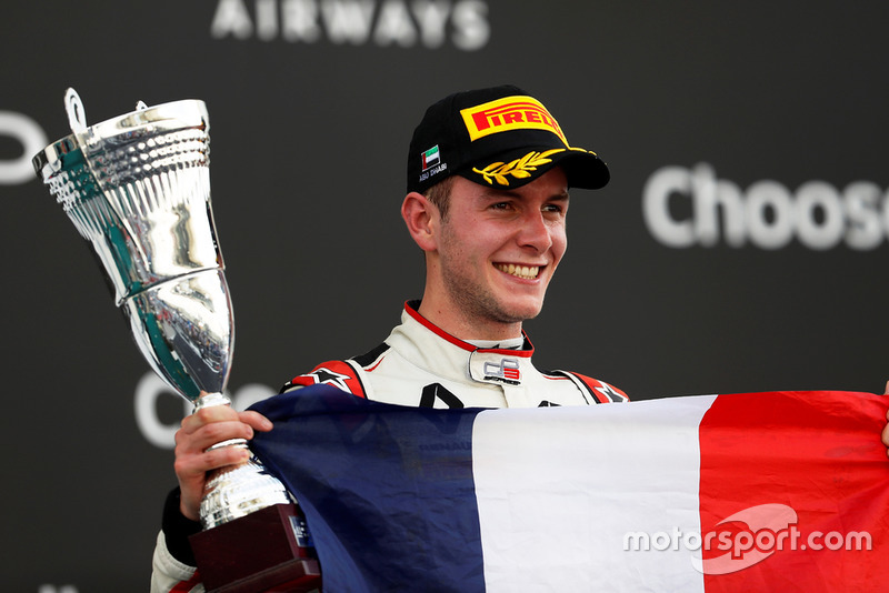 Anthoine Hubert, ART Grand Prix fête son titre sur le podium