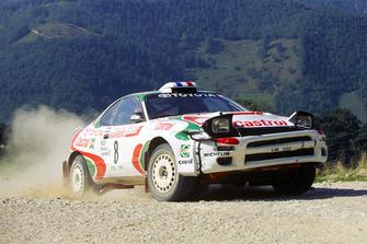 Дидье Ориоль и Бернар Очелли, Toyota Castrol Team, Toyota Celica Turbo 4WD (ST185)