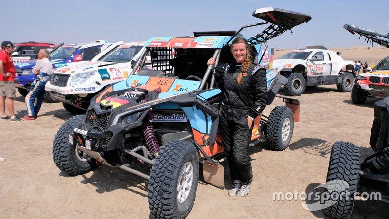 #385 SxS Racing4Charity-Team Face ALS: Annett Fischer