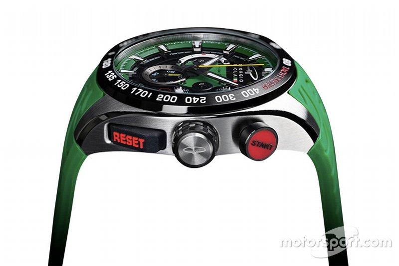Часы Джорджо Пиолы в зеленом цвете